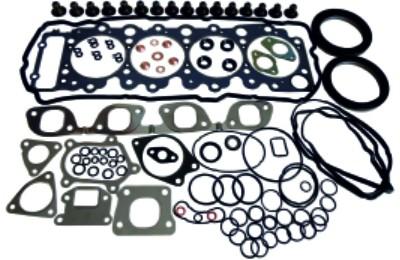 Набор прокладок полный на двигатель 4HK1, Isuzu NQR75, Богдан A-092, 5878133443, (KYH)