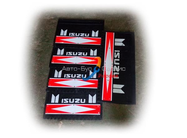 Брызговики (комплект) Isuzu NQR71/75, NPR, (5шт(2+2+1)) (KYH)