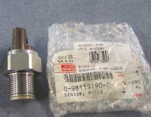Датчик давления топлива в рампе Isuzu NQR75, Богдан A-092, 4НК1, 8981197900, (ISUZU)
