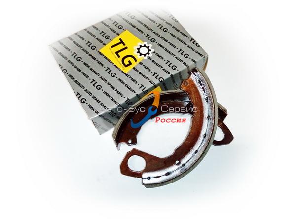 Колодка стояночного тормоза Isuzu NQR71/75, Богдан А-092, КПП MZZ6, 8970429341, (кт-2шт) (TLG)