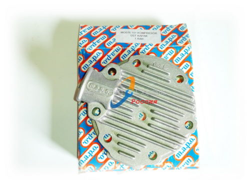 Крышка компрессора (цилиндра) Богдан А-092 верхняя, МО076.101 (МАРО)