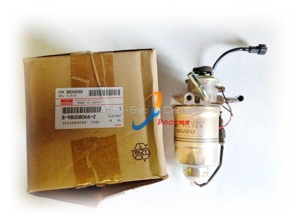 Фильтр топливный с подкачкой Isuzu NQR75, Богдан A-092, 8980080662, 4НК1 (ISUZU)
