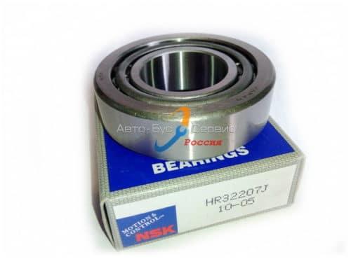 Подшипник ступицы передней наружный-Hyundai HD72/78, Isuzu NQR, Богдан A-092 /32207/7507/ (NSK)