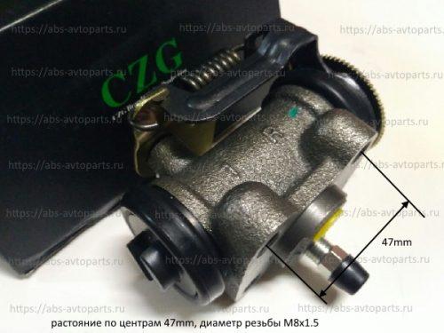 крепежные размеры тормозного цилиндра на NMR85