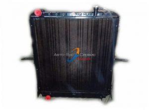Радиатор охлаждения ДВС Isuzu NPR75,Богдан A-092, A-093, (Е3) 4HK1