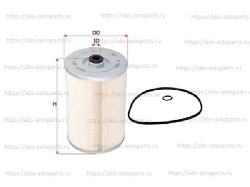 Фильтр масляный HINO (Е4)(большой), аналог