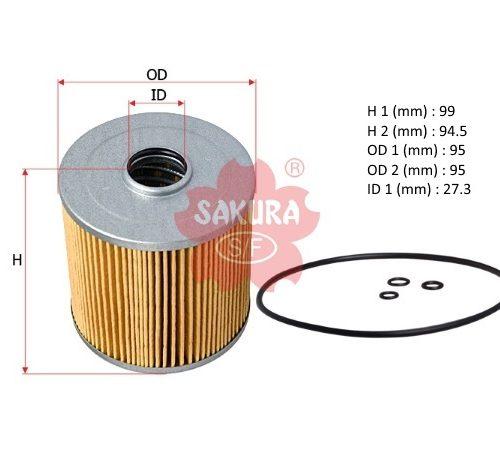 Фильтр топливный грубой очистки Hino 300 E3 F-1306
