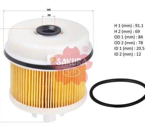 Фильтр топливный тонкой очистки Hino 300 E3, EF-1112