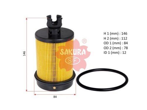 Фильтр топливный HINO 300 (Евро-4), EF-13070