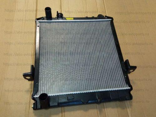 Радиатор системы охлаждения двигателя ISUZU Elf, NKR66, NKR71 (450x470)