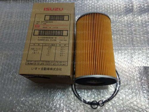 Фильтр масляный (основной) ISUZU GIGA CYZ51-CYZ52, 6WG1, 6WF1, 1132402330