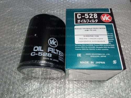 Фильтр масляный ISUZU NKR55 4JB1-TC VIC