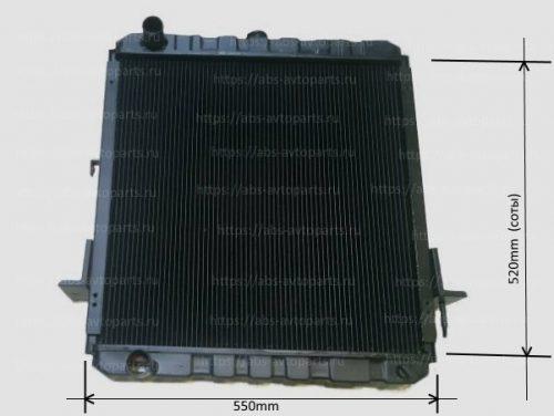8973710110-Радиатор системы охлаждения ISUZU NQR71